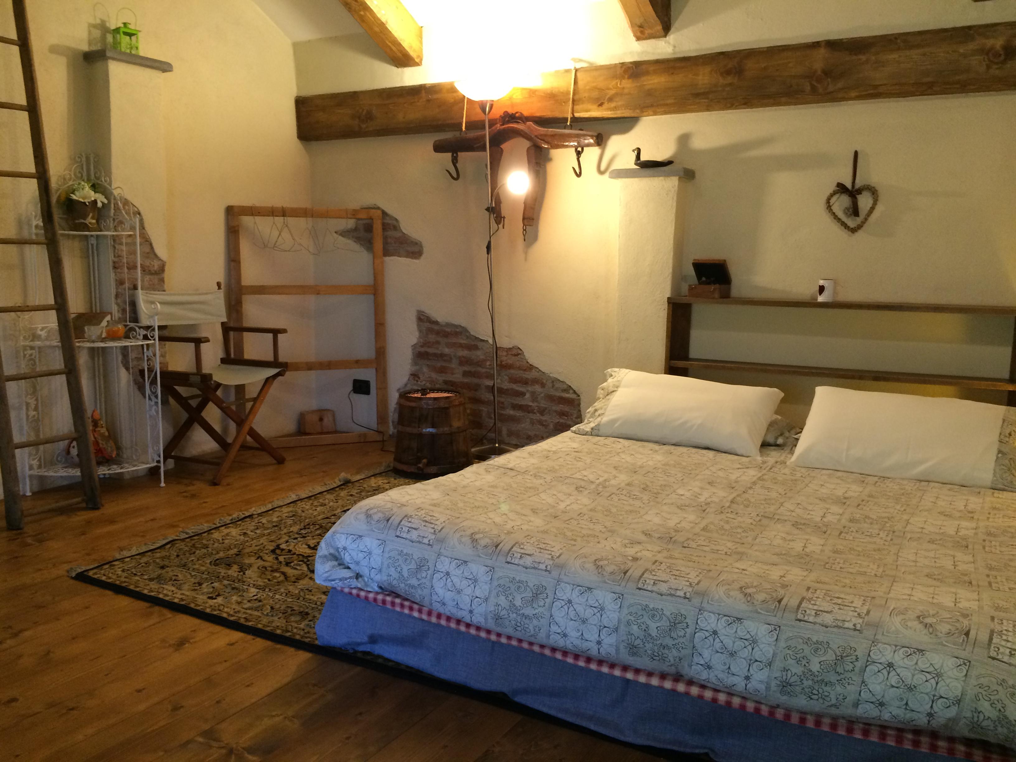 Casa di campagna casa aiva per una vacanza nella natura - Soppalco camera da letto ...